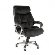Кресло руководителя CH-438 черная ткань,  Chairman 438