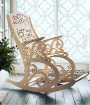 Кресло качалка новое